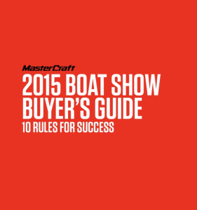 2015 Boat Show Buyer's Guide